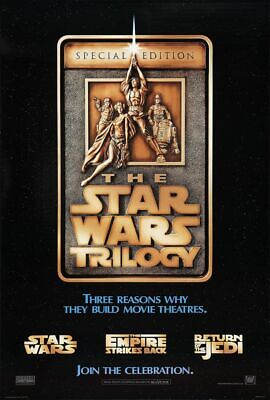 Star Wars Special Edition - original DS movie poster  D/S 27x40 1997