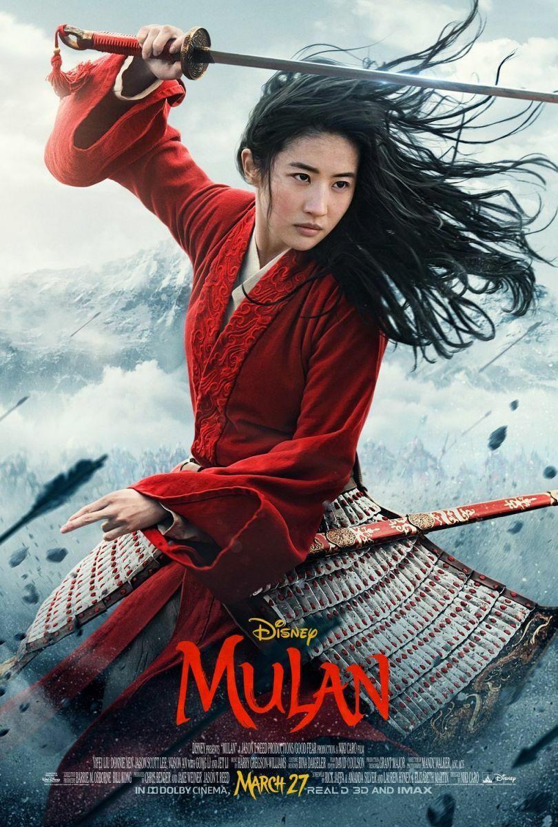 Mulan - original DS movie poster 27x40 D/S - 2019 US FINAL