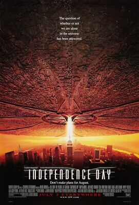 Original INDEPENDENCE DAY Style C D/S ONE SHEET
