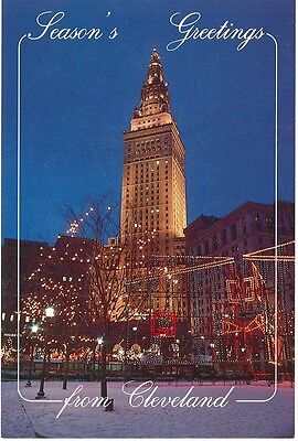 CLEVELAND,OHIO  PUBLIC SQUARE TERMINAL TOWER ANNUAL LIGHTING TRADITION (CD#25*)