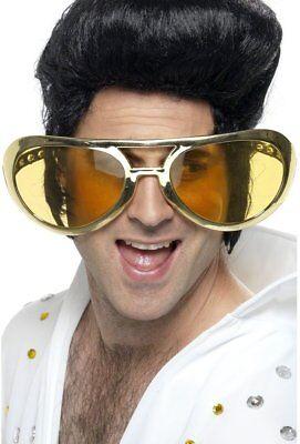 Giant Rock Glasses 70s Jumbo Rocker Adults Disco Fancy Dress Accessory