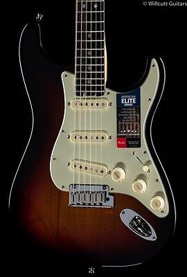 Fender American Elite Stratocaster 3 Tone Sunburst Ebony  658