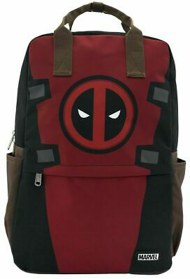 Official Loungefly Marvel DeadPool Dead Pool Laptop School Bag Backpack