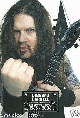 "PANTERA ""DIMEBAG DARRELL MAKING FIST"" POSTER FROM ASIA - Heavy Metal Music"