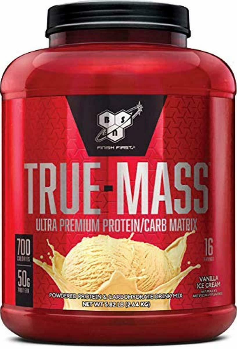BSN TRUE-MASS Weight Gainer, Muscle Mass Gainer Protein Powd