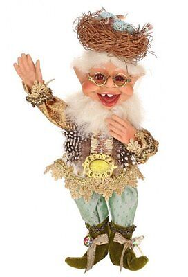 Mark Roberts Elves, Bird Lover Elf Small 11 inches