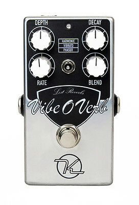 Keeley Electronics Vibe-O-Verb Ambient Reverb pedal