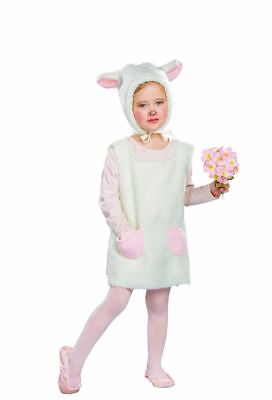 FM - Kinder Kostüm Lamm Schaf Kleid Mütze - Lamm Kinder Kostüme