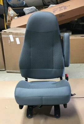 11-16 Ford F650 F750 SuperDuty Gray Cloth RH Passenger Non-Air Ride Bucket Seat