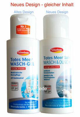Schaebens TOTES MEER SALZ Wasch & Dusch Waschgel gegen Pickel+Unreinheiten 200ml