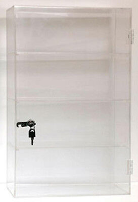 Acrylic Showcase Countertop Display Case 13w X 21h New