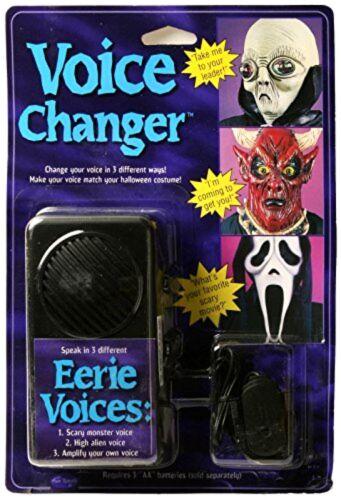 Ghostface Voice Changer as Seen in Movie Scream .