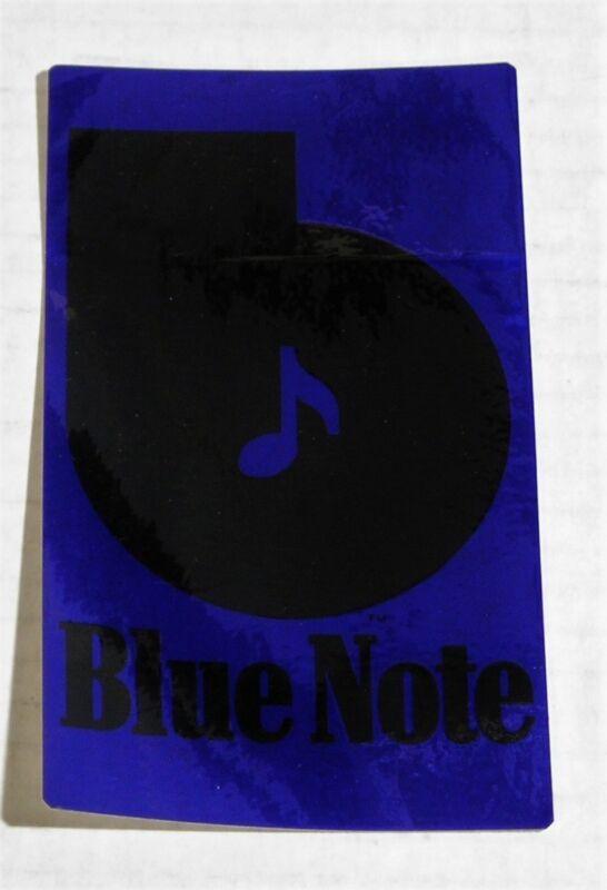 Blue Note Records-Original 1973 PROMO Vinyl Sticker - NEW/UNUSED!