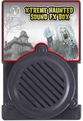 Morris Costumes Xtreme Haunted Special Effects Sound Fx Box Props. MR122716
