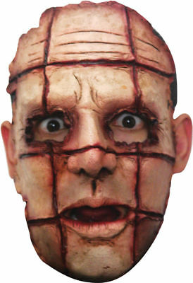 Halloween Horror Costumes (Morris Costumes Halloween Horror Serial Killer 6 Latex Bloody Cut Mask.)