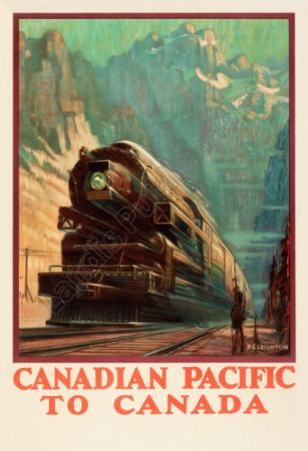Canadian Pacific Railway to Canada 1940