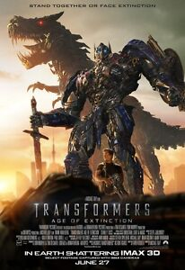 Transformers 4 Age of Extinction 2014 Movie Fabric Poster 36