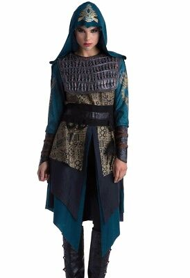 Assassins Creed Maria Costume Deluxe Adult Womens Female Warrior - S M L - Fast - Assassins Creed Costume Womens