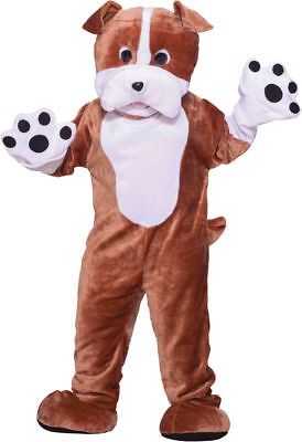Morris Costumes Boys Bull Dog Mascot Complete Outfit One Size. FM68212