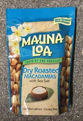 Dry Roasted Macadamia Nuts - Mauna Loa Dry Roasted Macadamia Salted Nuts 10 Ounce Bag Fresh 06/2020 Exp