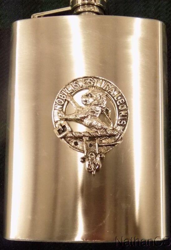 Stuart Scottish Clan 8oz Flask