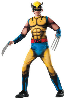 Morris Costume Boys Long Sleeve Muscle Wolverine Child Costume 12-14. RU880782LG](Wolverine Child Costume)
