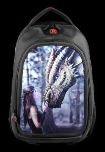 Mochila-con-3D-Dragones-Once-upon-a-Time-Anne-Stokes-Escuela-Bolso-De-Portatil