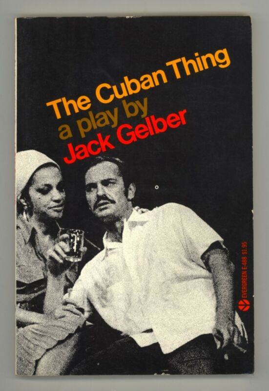 The Cuban Thing by Jack Gelber RARE OUT-OF-PRINT 1968 SCRIPT - BIG BROADWAY FLOP