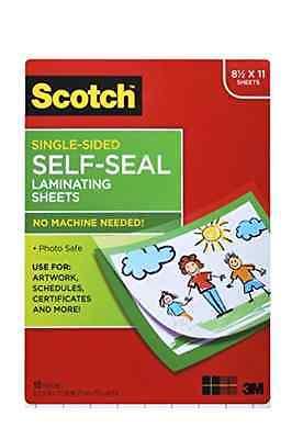 Self-sealing Laminating Sheets 6.0 Mil 8 12 X 11 10pack