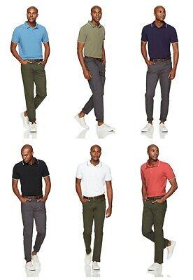 Goodthreads Men's Short-Sleeve Washed Pique Polo Shirt Three Button Placket