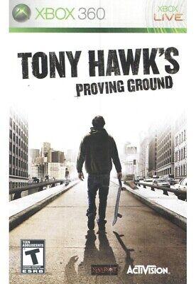 BRAND NEW Sealed Tony Hawk's Proving Ground (Microsoft Xbox 360, 2007)