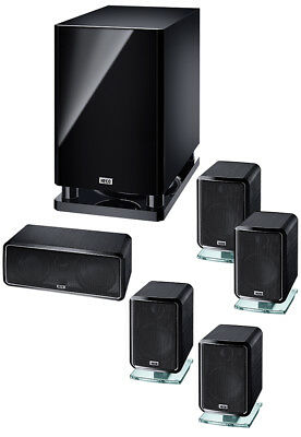 B Ware Heco Ambient 5.1 A, Heimkino-System mit Aktiv- Subwoofer