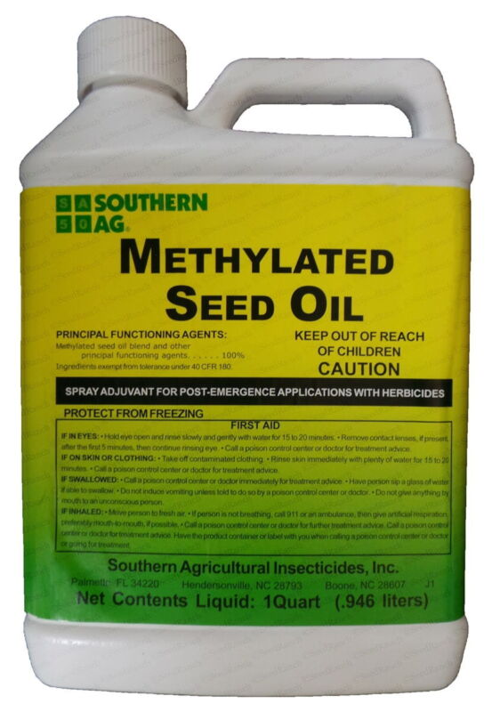 Methylated Seed Oil (MSO) - 1 Quart.