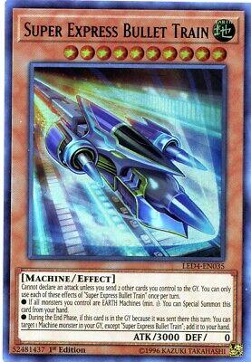 - Super Express Bullet Train - LED4-EN035 - Ultra Rare - 1st Edition - Near Mint