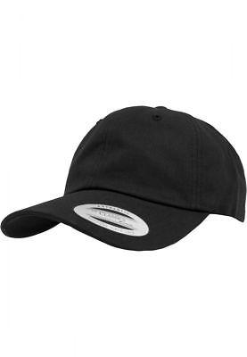 Flexfit Low Profile Cotton Twill Cap Black TD088 FF 17
