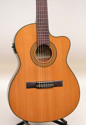 Ibanez GA5TCE Thinline Classical Acoustic-Electric Guitar Natural