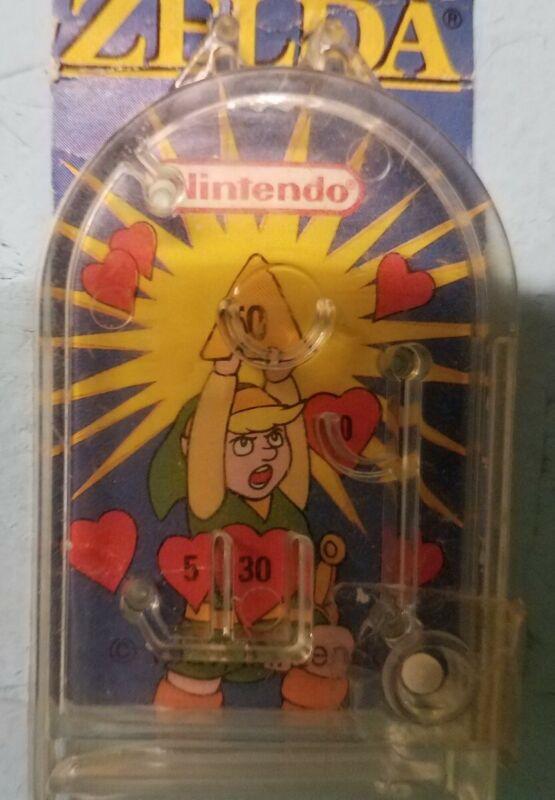 1989 Nintendo Cereal System Premium Zelda Link Pinball Premium Toy. Rare, Nice