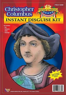 Christopher Columbus Satz Hut Teleskop Globus Kinder Jungen Play