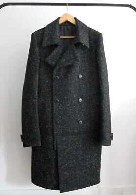 *NEW* DEEPTI BARTH VULCANIZED LONG CABAN COAT POELL $3000 (SIZE 52)
