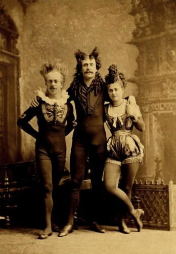 Circus, Clowns, Carnival, Oddities, Vintage reprint Quality 8.50 x 11 photo 464