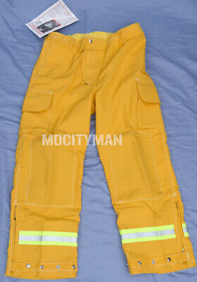 Lion Apparel Wildland Brush Fire Firefighter Pants Large Regular Nomex