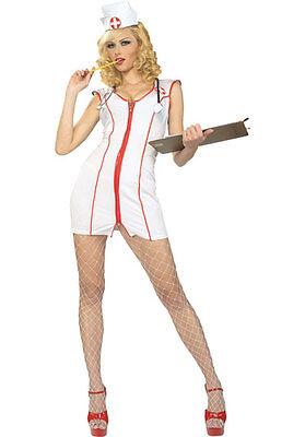 *CLEARANCE* Nurse Sexy Feelgood Women's Fancy Dress Costume (Rubies) Hen Party