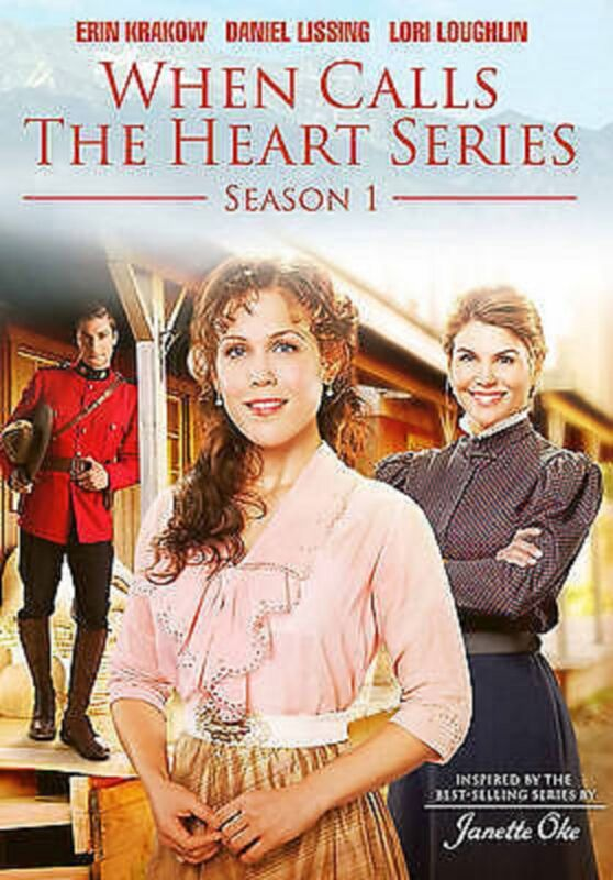WHEN CALLS THE HEART - SEASON 1 (Hallmark Channel) Janette Oke Michael Landon Jr