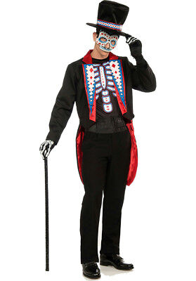 Male Skeleton Halloween Costume (Day of the Dead Male Adult Skeleton)