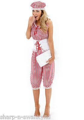 Damen Sexy Rot 1920er Baden Strand Honig Badeanzug Kostüm ()