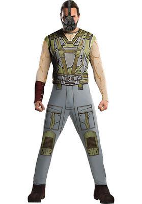 Bane Adult Kostüme (Mens Adult Bane Batman Dark Knight Rises DC Fancy Dress Superhero Costume - Lrg)