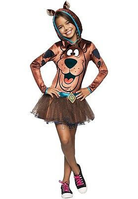 Mädchen Scooby-Doo Tutu TV Büchertag Halloween Kostüm Kleid - Scooby Doo Mädchen Kostüm