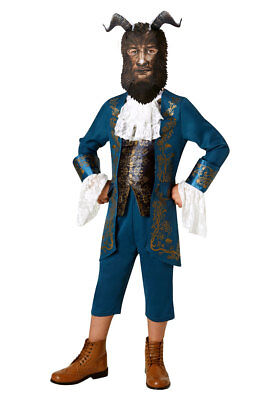 Lizenz Kostüm für Kinder  The Beast Live Action Movie Die Schöne und das - Biest Kostüm Kind
