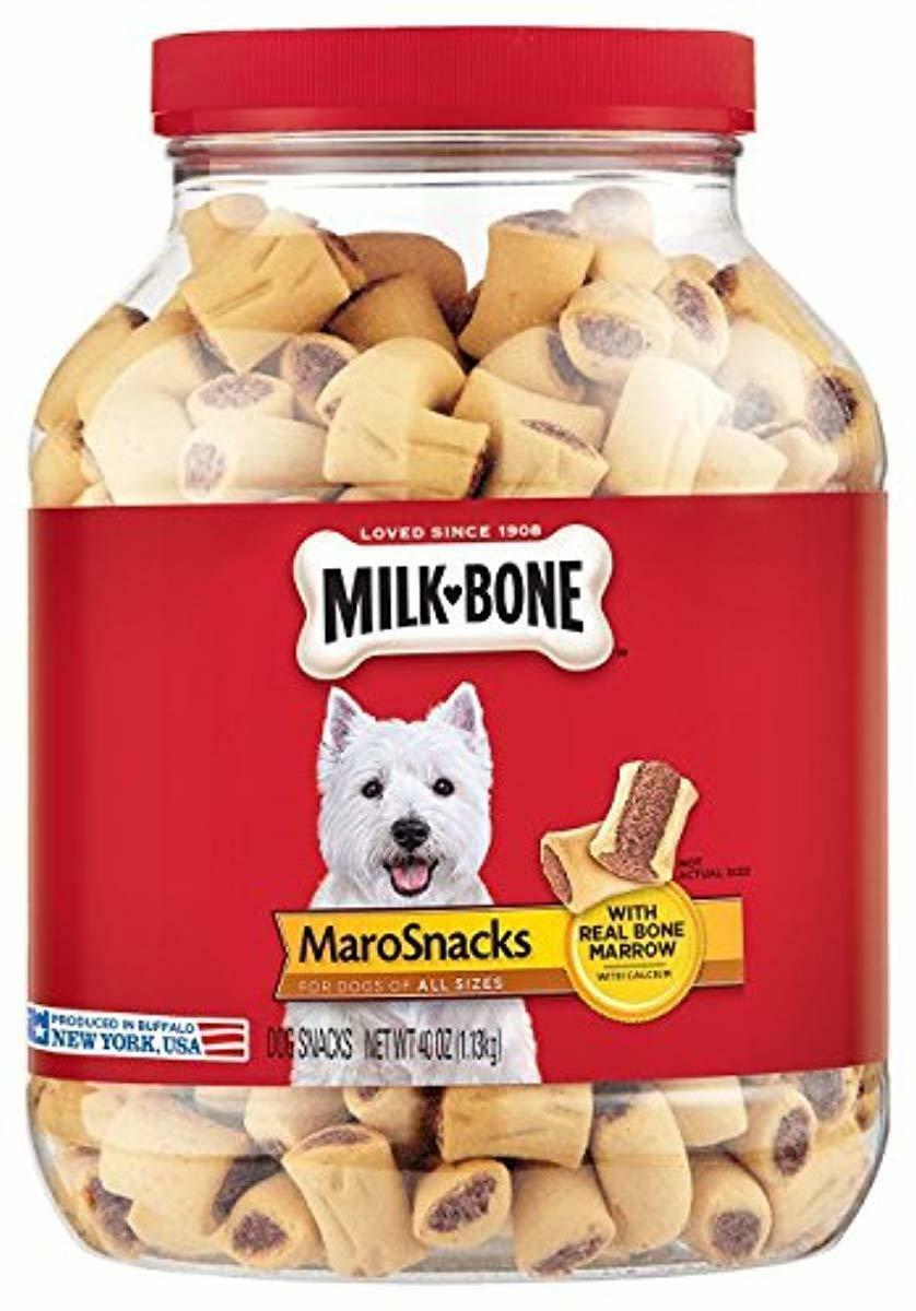 Milk-Bone MaroSnacks Dog Treats with Real Bone Marrow and Ca