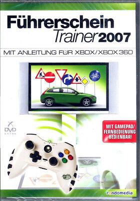 Führerschein Trainer 2007 XBOX, XBOX360 mit Gamepad, Remote Bedienbar